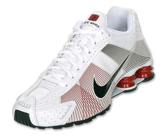 4ea4695b3462d6 Nike Shox R4 Flywire - White - Red - Black - Available - SneakerNews.com