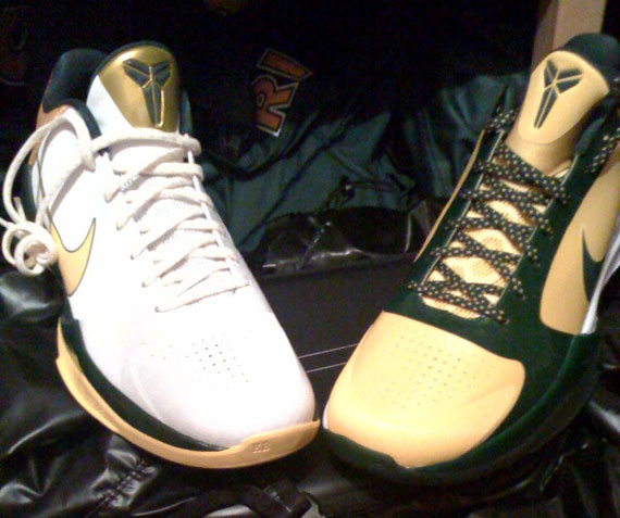 c923facbf571 free shipping Nike Zoom Kobe V 5 Rice High School PEs - s132716079 ...