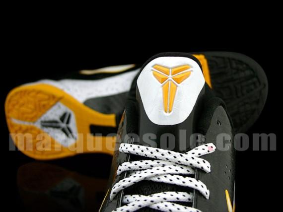 Nike Zoom Kobe V 5 Black Del Sol White