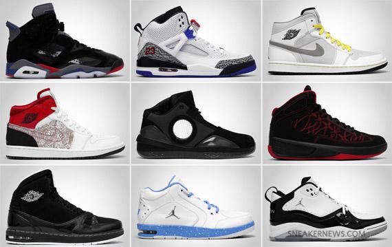 2010 air jordan releases