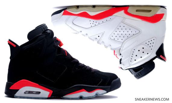 nike air max élite 2 - Air Jordan VI (6) Retro - Infrared Pack - June 2010 - SneakerNews.com
