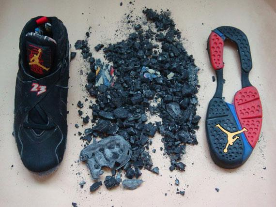 b60903b8f16 Air Jordan VIII (8) Sample Dissected - SneakerNews.com