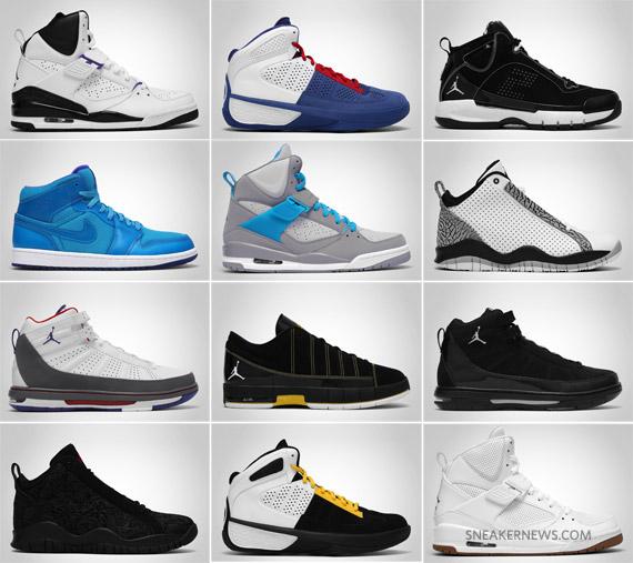 all team jordan shoes ever made