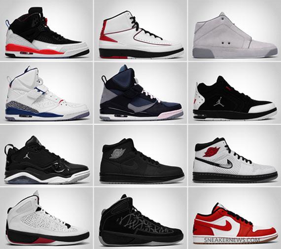 Jordan Brand May 2010 Releases