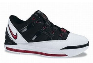 100% authentic 3abf5 dca57 lebron-3-low-black-white-red-323