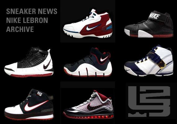 Sneaker News Nike Lebron Archive Launch Sneakernews Com