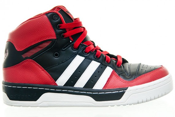 This new adidas Originals Metro Attitude Hi gets back to the Metro's  basketball ...