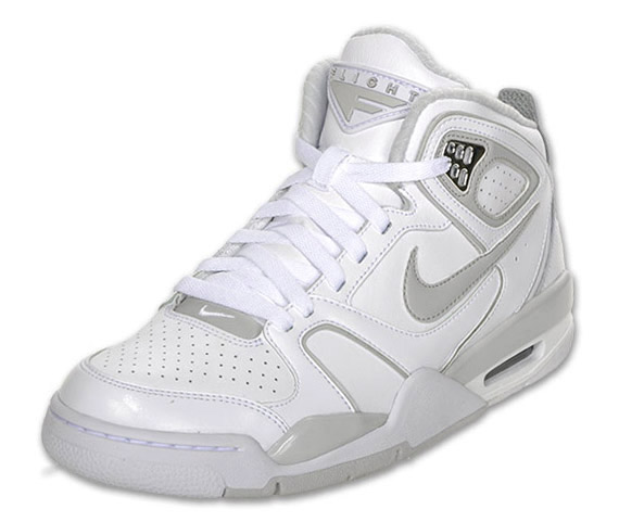 pas mal 8202b 2dea7 Nike Air Flight Falcon - White - Grey - SneakerNews.com