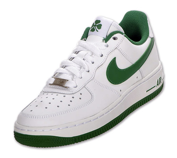 buy popular 20e37 6258f Nike Air Force 1 GS - St. Patrick s Day - SneakerNews.com