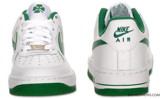 best service 4056e 66e8f Nike Air Force 1 GS – St. Patrick s Day
