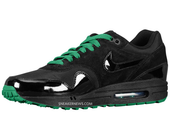 0763d6f1da Nike Air Max 1 – Air Attack Pack – Black/Pine Green. Nike ...