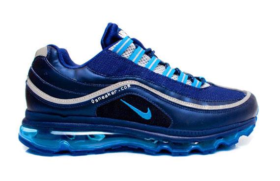 official photos dd538 ac679 good Nike Air Max 24 7 Navy Blue Silver White