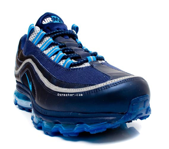 the best attitude 57a0d b0997 Nike Air Max 24 7 – Navy Blue – Silver – White