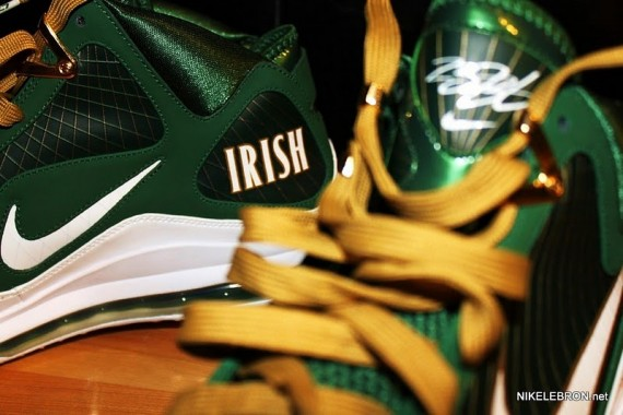 hot sales e3b97 5a951 Nike Air Max LeBron VII – SVSM Away PE – Detailed Images
