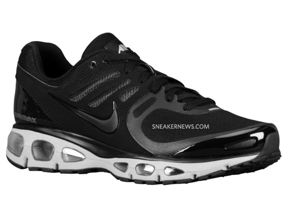 nike air max tailwind 2010 air attack pack black metallic silver