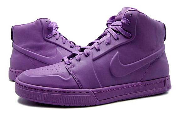 Sudor Accidentalmente maldición  Nike Air Royal Mid VT - White + Violet Pop | Available - SneakerNews.com