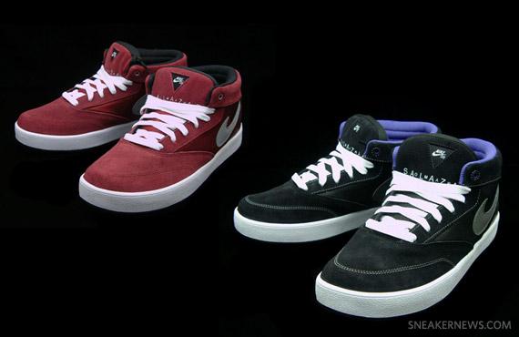 new concept da783 37ce7 Nike SB Omar Salazar Pro Model – Black + Team Red – Available