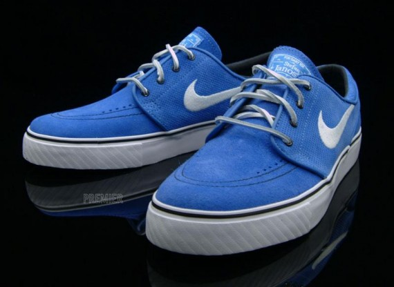 size 40 uk availability the best attitude Nike SB Zoom Stefan Janoski - Pacific Blue - White ...
