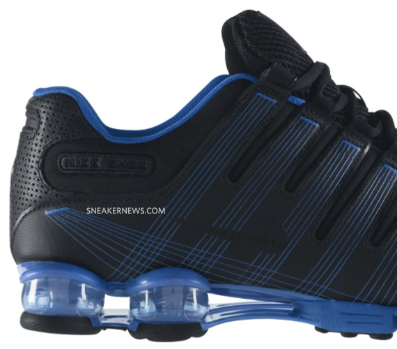 Nike Shox Nz Blue Black