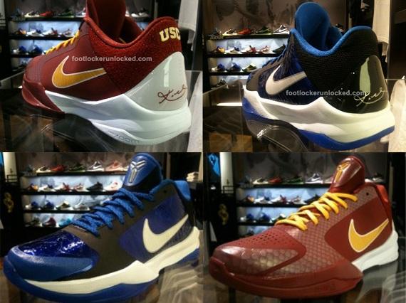 new products d4d79 da7a7 Nike Zoom Kobe V (5) - Duke + USC   Available - SneakerNews.com