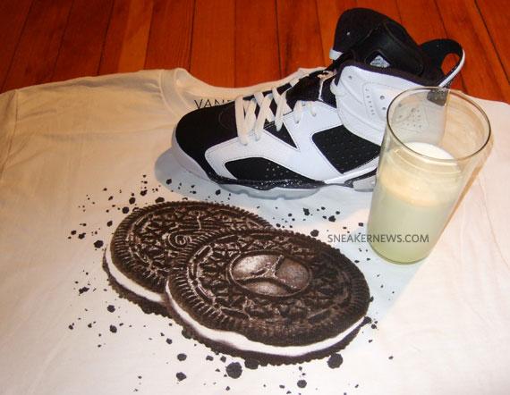 Air Jordan VI (6) Oreo Inspired T-Shirt by Vandal-A ...