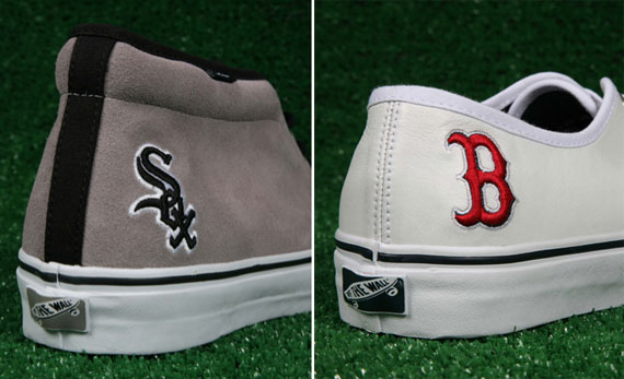 8ef7d1f9be4c Vans Vault Opening Day Collection - Red Sox + White Sox ...
