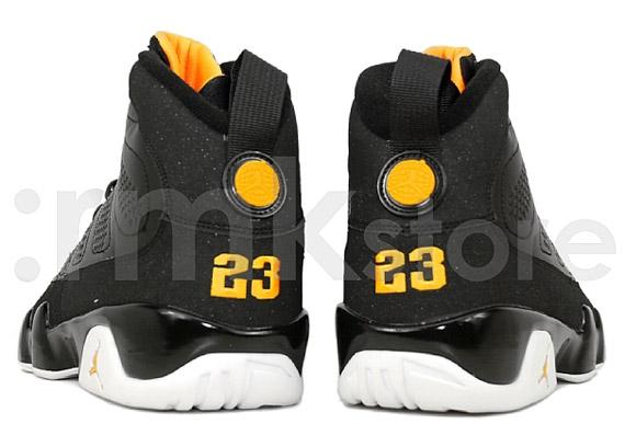 nike basket 4E - Air Jordan IX (9) Retro - Black - Citrus - White | Available Early ...