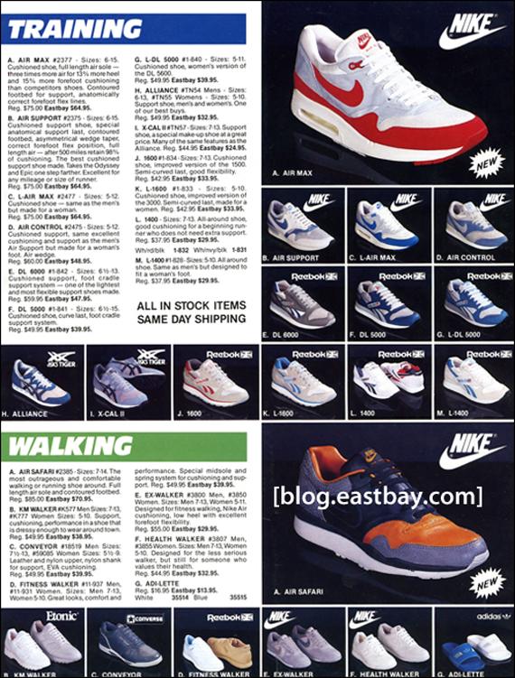 Eastbay 1987 Catalog Flashback