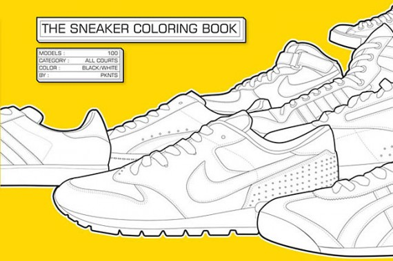 The Sneaker Coloring Book SneakerNewscom