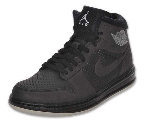nike shox avec des paillettes - Air Jordan Alpha 1 - Black - Metallic Silver - 3M | Available ...