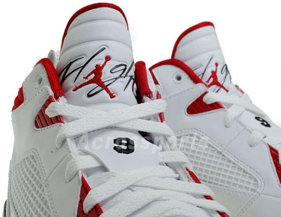 Air Jordan Flight 9 - White - Black - Varsity Red | Available on eBay - SneakerNews.com