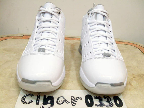 Air Jordan ONE6 ONE7 - White - Metallic Silver  56391b5c6