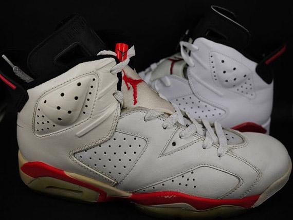 d1f09e504a92 Air Jordan VI (6) - White - Infrared + White - Varsity Red