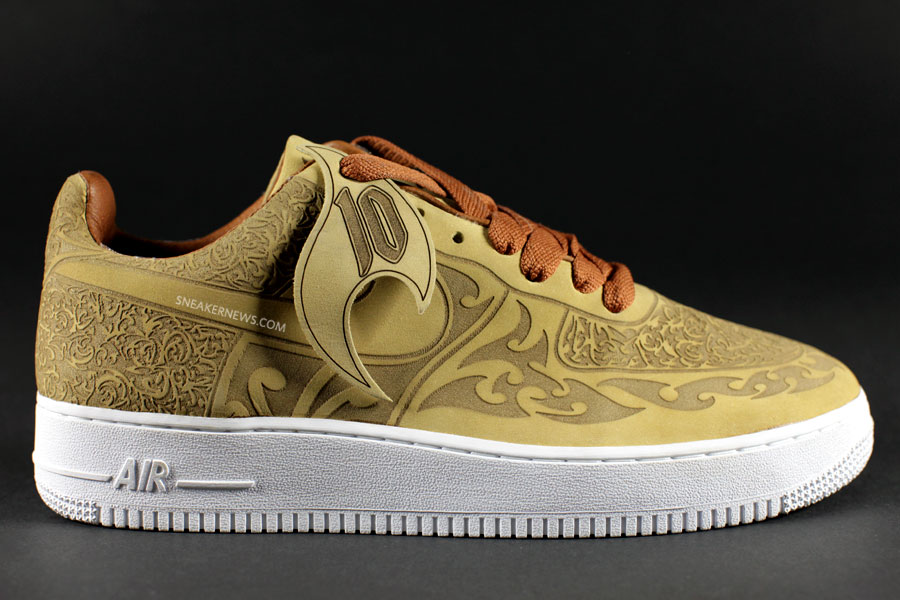 Classics Revisited: Nike Air Force 1 - Mark Smith Laser ...