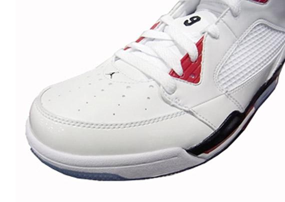 c072f66fe51f Air Jordan Flight 9 - White - Varsity Red - Black - SneakerNews.com