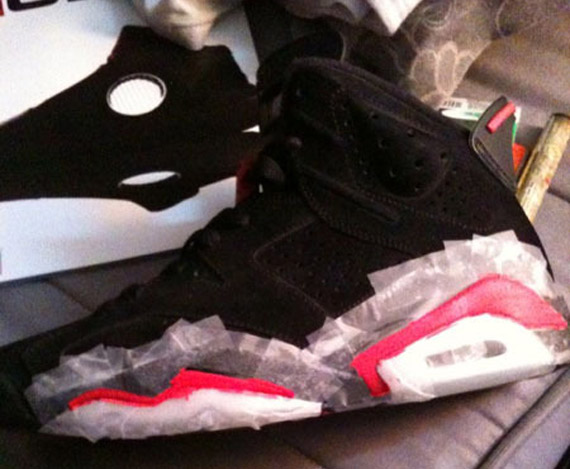 4f59c32cd214 Air Jordan VI (6) - Varsity Red Turned into Infrared - SneakerNews.com