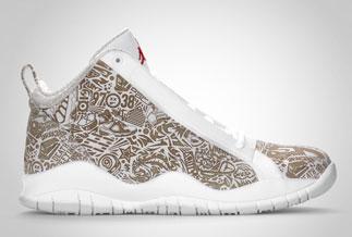 Mens Air Jordan 10 Accolades Premier Black shoes