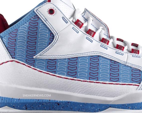 Air Jordan CP3.III Chevron White University Blue Varsity Red ... a54ab900fe