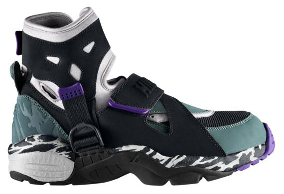 uk availability 9b2c4 e4a02 Nike Air Carnivore - Light Zen Grey - Black - Oxidized Green ...