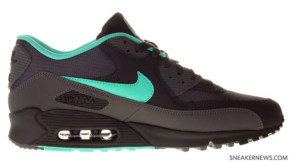 nike air max mint and grey