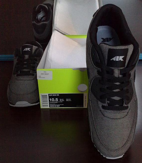 Nike Air Max 24 7 Air Attack Pack Black Metallic Silver Grey