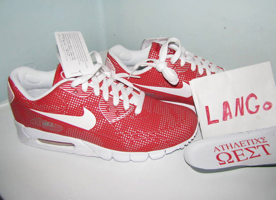 Nike Air Max 90 Current Moire Red White Omega Pack