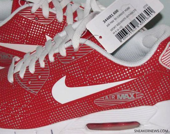 Best Nike Air Max 90 Current Moire Omega Pack Red White