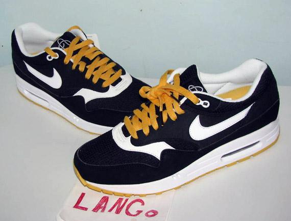 Nike Air Max 1 Black Yellow Omega Pack | Sample