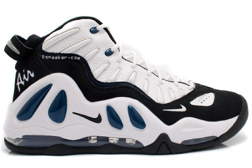 new concept ec4bd 49005 Nike Air Max Uptempo III – White – Black – Blue – Holiday 2010