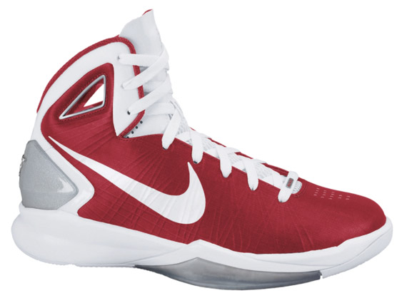 Nike Hyperdunk Red And White