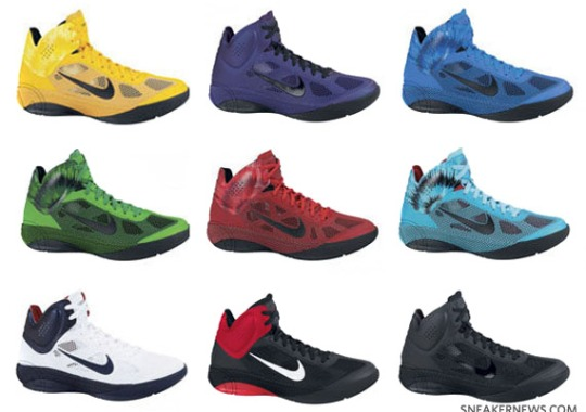 Nike Hyperfuse – Fall 2010 Colorways