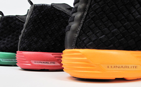 Nike Lunar Woven Chukka - Brazil + France + Netherlands  fb77d356af