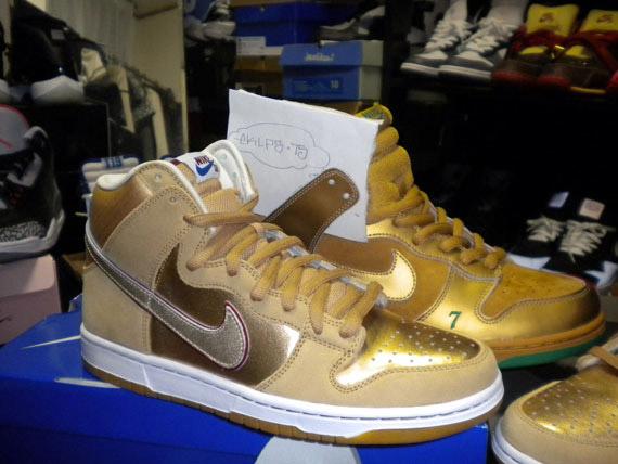 "official photos 8d841 50b0b ... Koston Nike SB Dunk High Premium ""Thai Temple"" eBay Marketplace Logo ..."