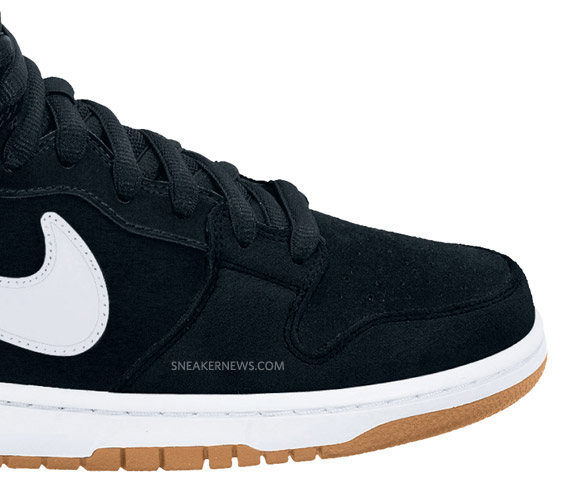 best service e4c80 57b61 Nike SB Dunk Mid Pro - Black - White - Gum - Holiday 2010   First ...